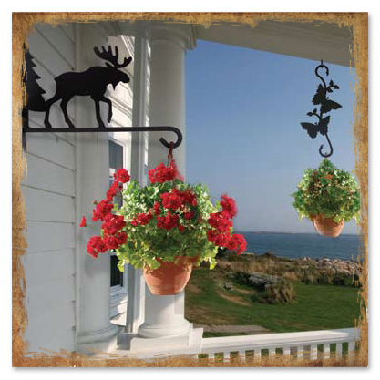 Wrought Iron Plant Hangers From Timeless