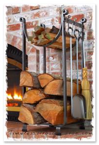 Timeless Wrought Iron - Firewood Racks