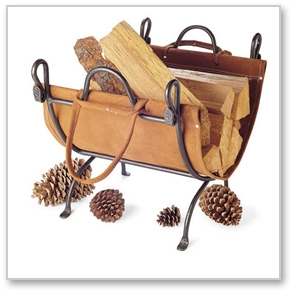 Timeless Wrought Iron - Fireplace Wood Carriers