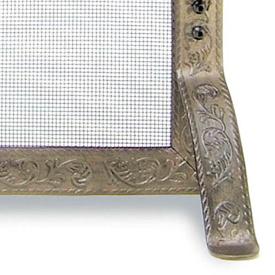 Timeless Wrought Iron - Fireplace Screens