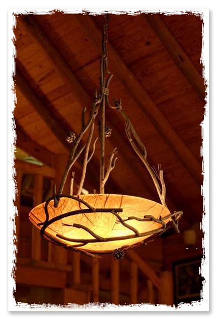 Foyer Chandelier Wrought Iron : Wrought iron chandeliers adding old world charm to