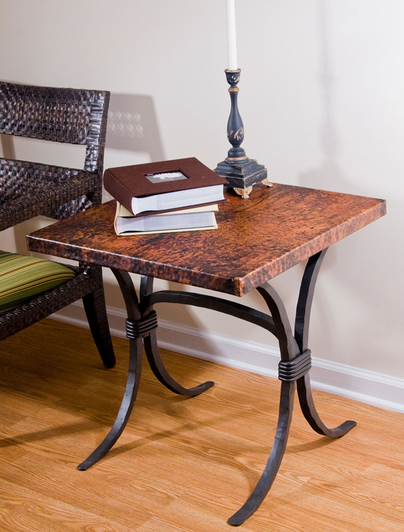 Timeless Wrought Iron - Salisbury End Table