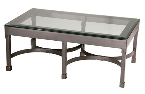 Timeless Wrought Iron - Cedarvale Cocktail Table