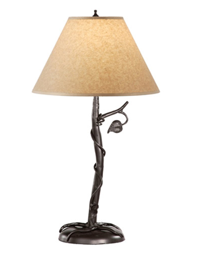 Wrought Iron Table Lamps on Timeless Wrought Iron   Sassafras Table Lamp