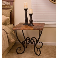 wrought iron end tables living room wrought iron end tables for the living room artisan 26127