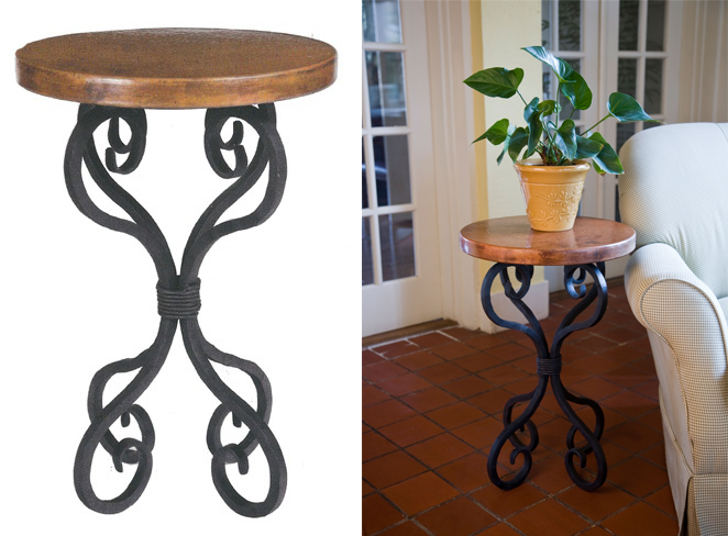 Classic Corner Tables - Decorating Tips from Style At Home ...