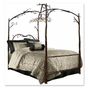 Enchanted Forest Canopy Bed Sweet Dreams