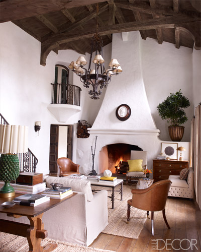 Spanish colonial revival homes of socal for California interior style