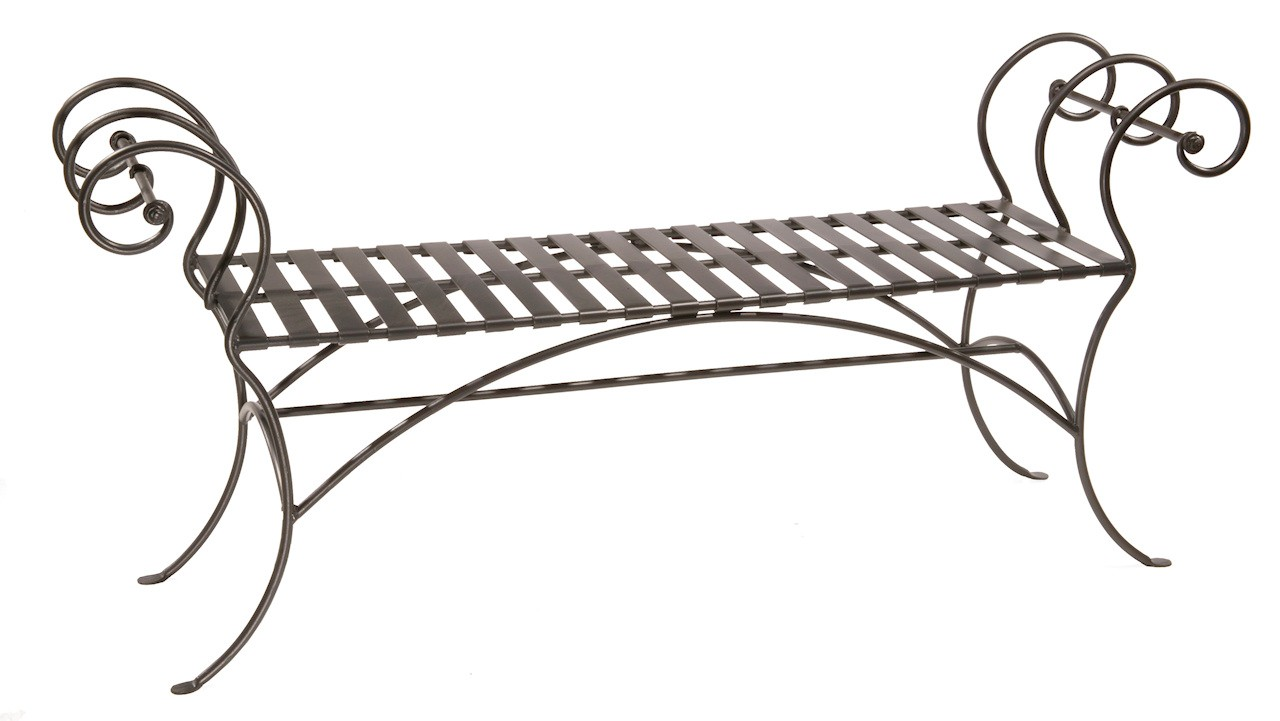 Wrought Iron Bench Ideas for Every Room. Wrought Iron Bench Ideas for Every Room   Artisan Crafted Iron