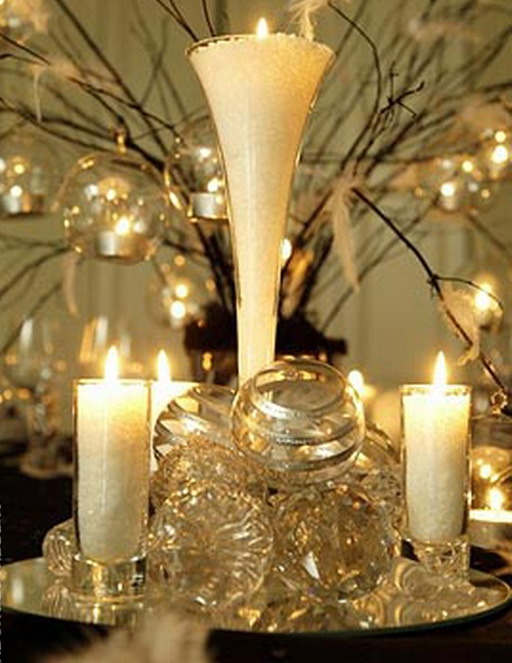 Matrimonio Rustico Centrotavola : Breathtaking christmas tablescape ideas