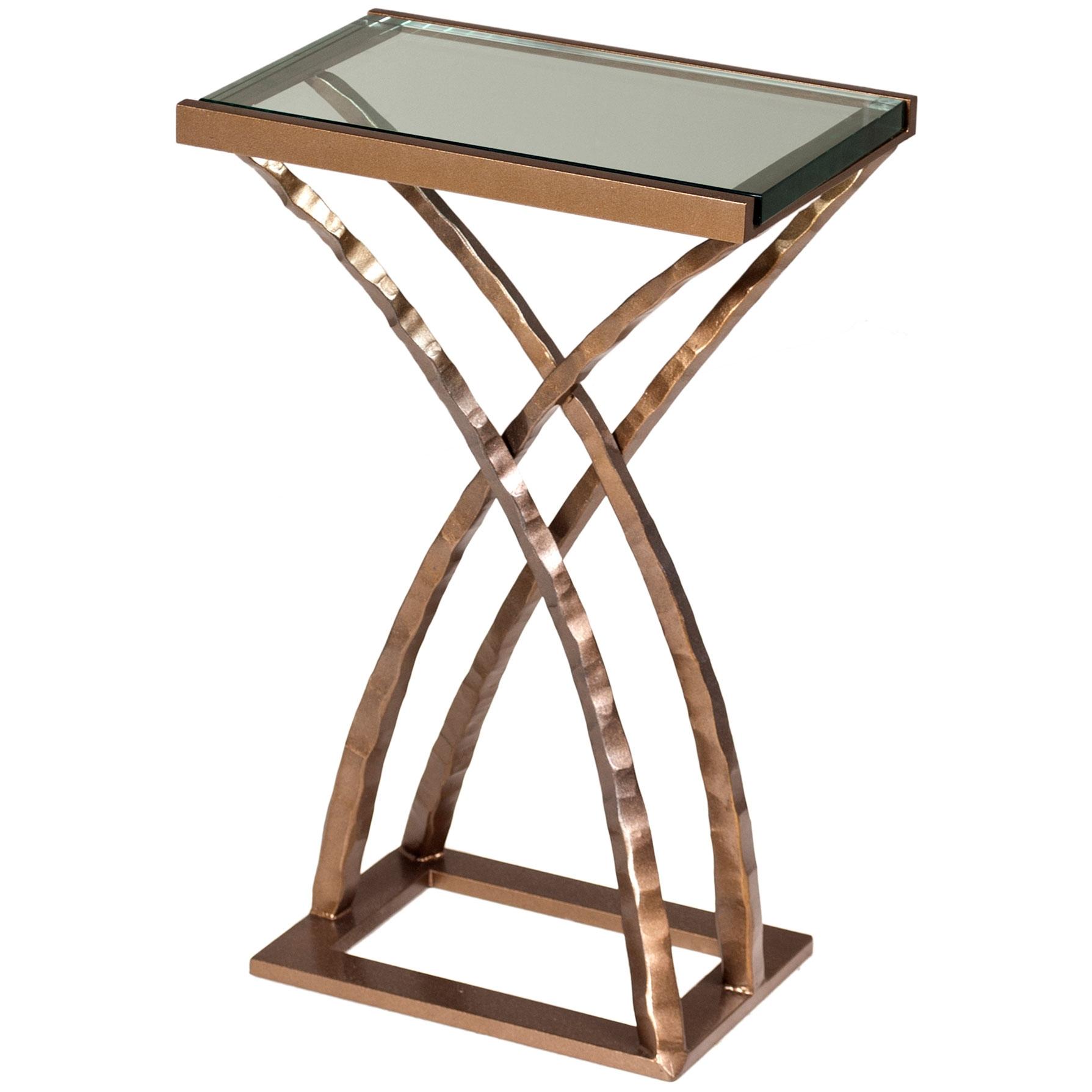 Wrought iron drink tables for every room artisan crafted for Table in table