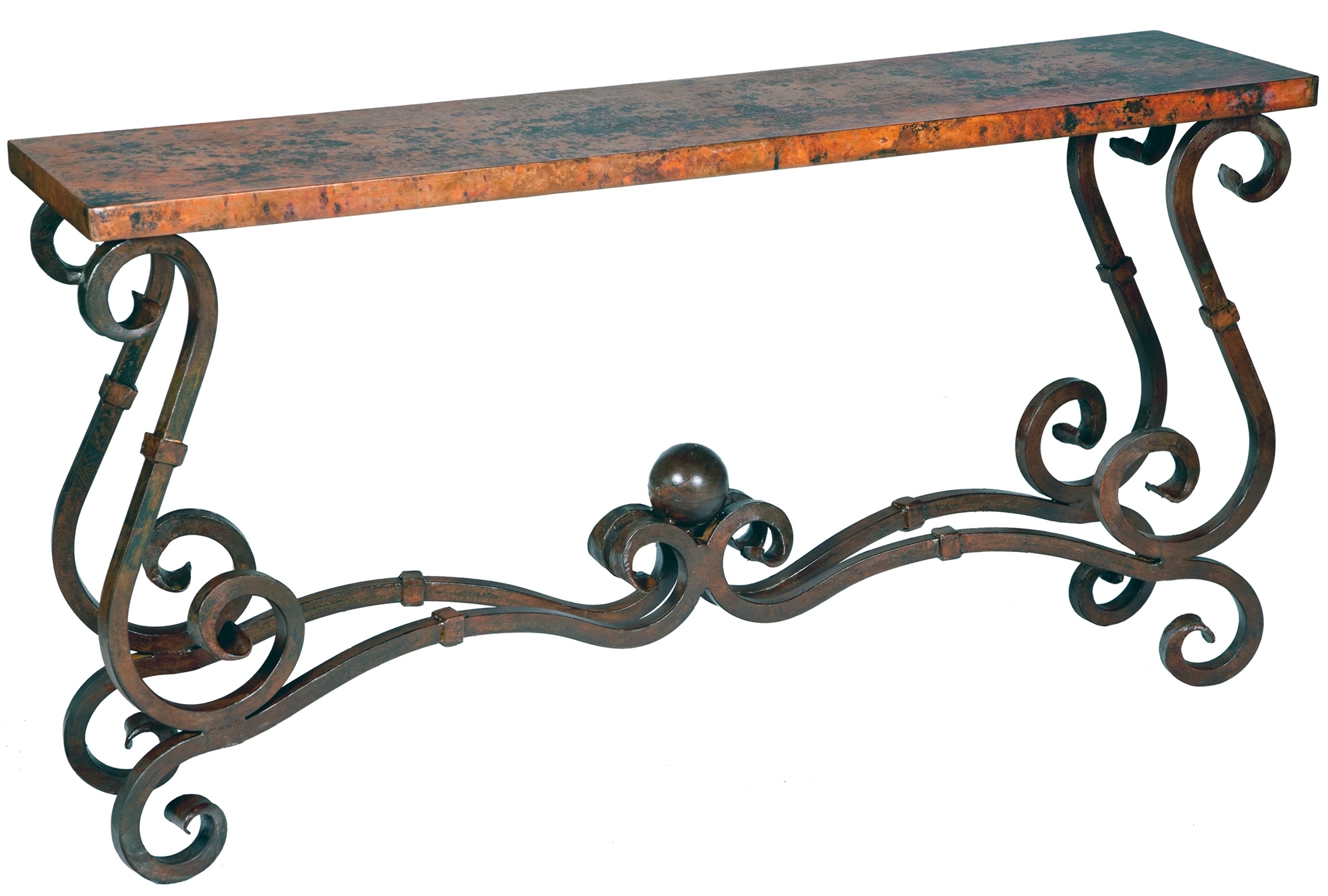 Stunning Copper & Wrought Iron Furniture by Prima