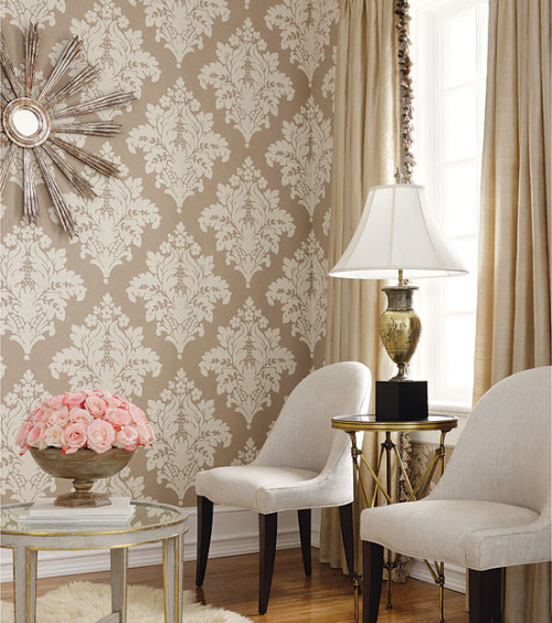 damask wallpaper 2