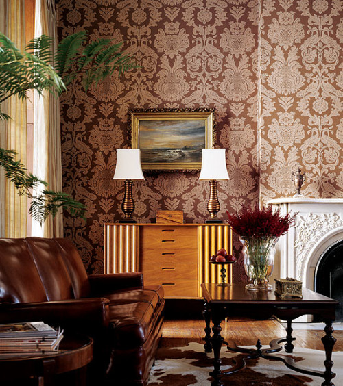 damask wallpaper 7