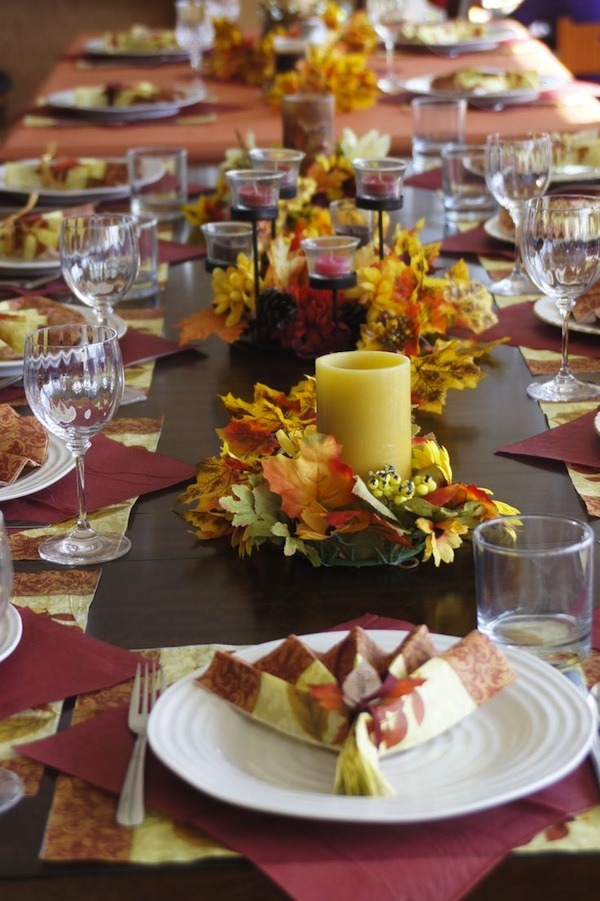 15 Beautiful Thanksgiving Table Settings Artisan Crafted