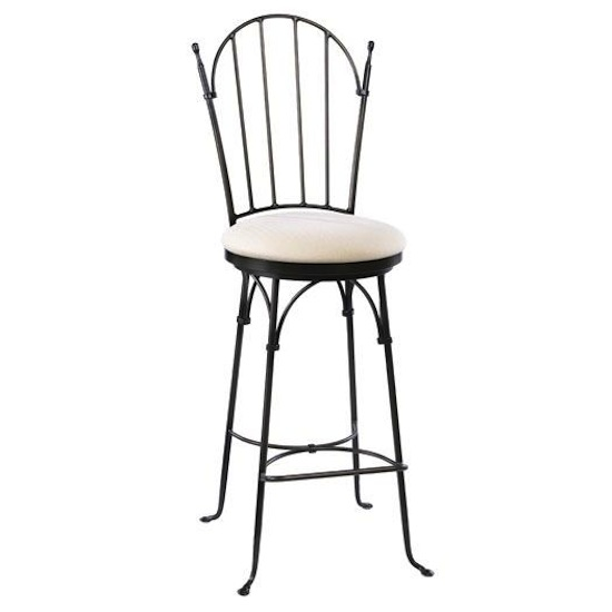 Iron barstools and counterstools for holiday entertaining