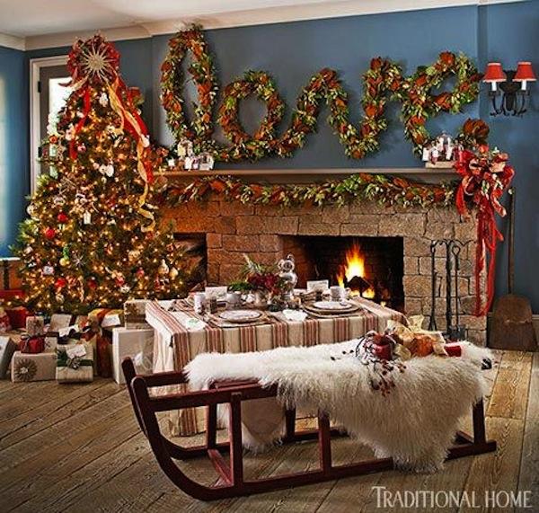 Holiday Mantel