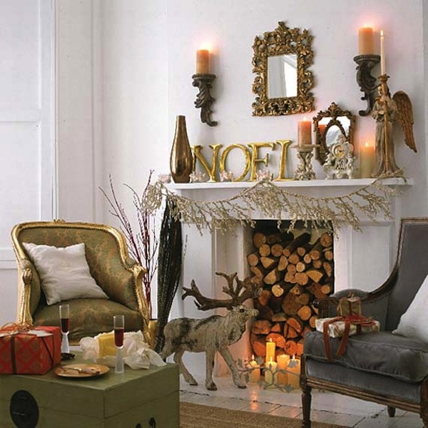 Dining Room Fireplace Ideas For Romantic Winter Nights: 15 Fireplace Mantel Ideas For The Holidays