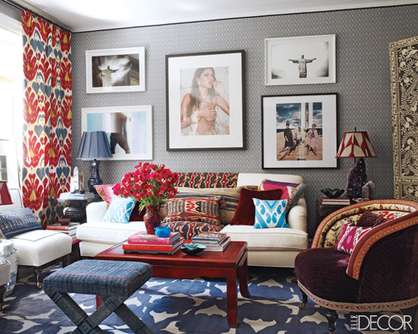 Crazy For Ikat Decorating Ideas Photos Artisan