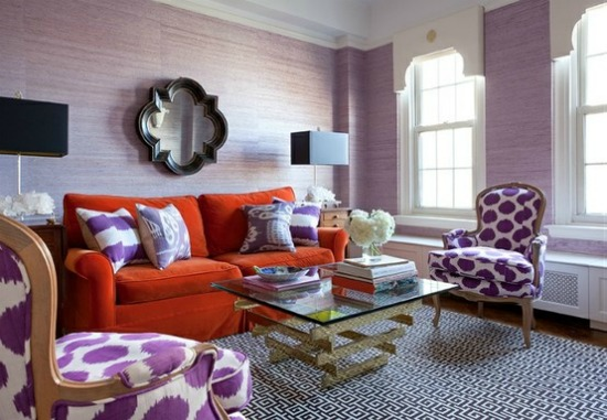 radiant orchid decor 2