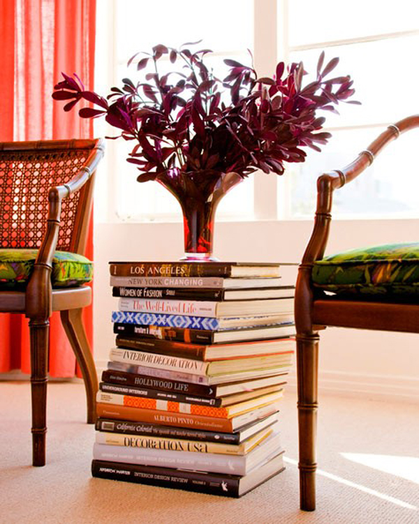 Book Furniture: Upcycled Design Trends: Books As Furniture