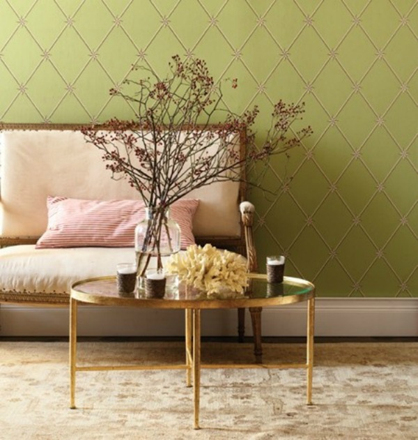 Gold And Green Decor 6