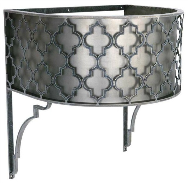 New Wrought Iron Bathroom Vanities By Urban Ironcraft