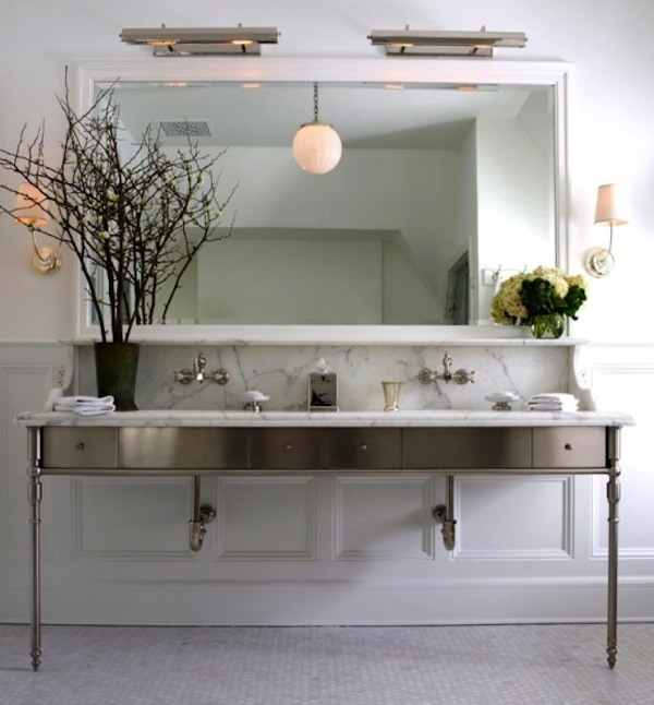 Get The Look Double Bathroom Sink Vanities