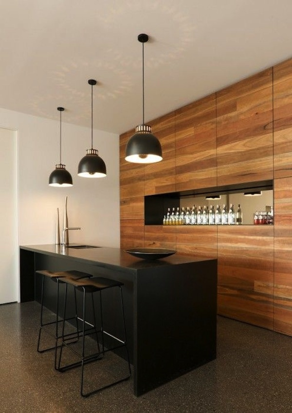 12 cool home bar designs - Home bar counter design photo ...