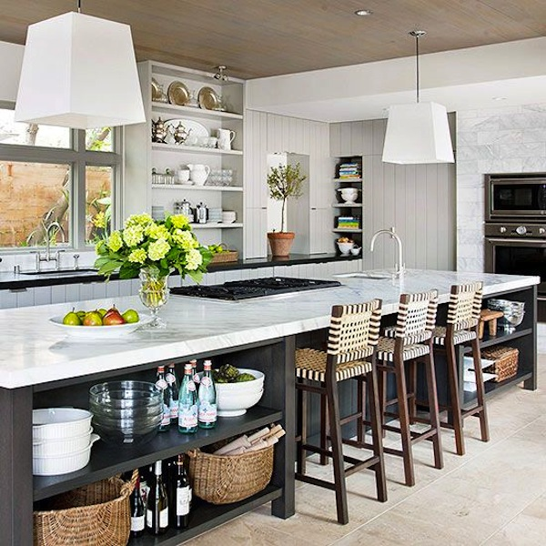 Open Kitchen With Bar Counter Seating And Chefs At Work: 1000+ Images About KITCHEN CABINET DOORS On Pinterest