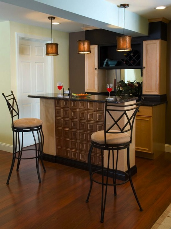 garage paint ideas - 12 Cool Home Bar Designs