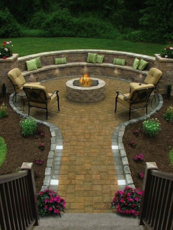 7 Fire Pit Seating