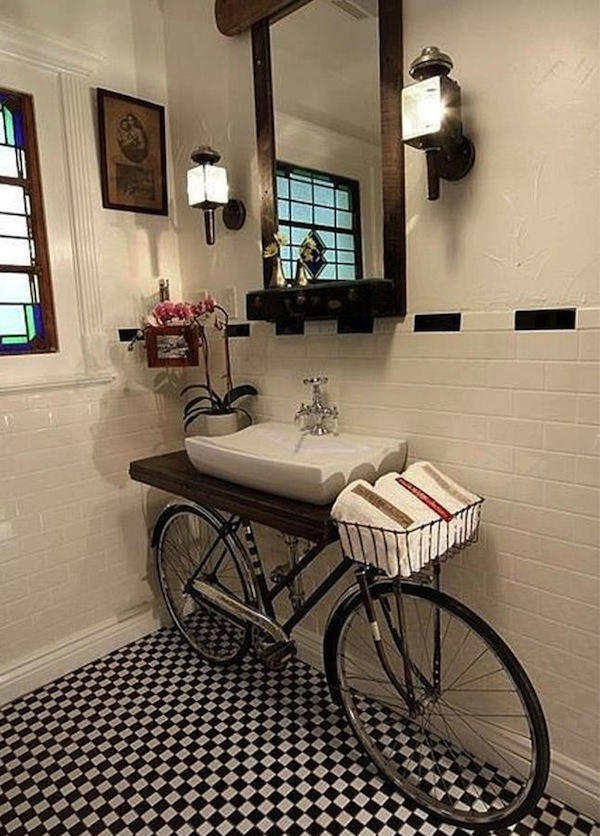 Merveilleux ... Love A Whimsical Look In Their Home Décor, Thinking Outside Of The  Design Box Can Result In Interesting U201cone Of A Kindu201d Sink Vanities For Powder  Rooms ...