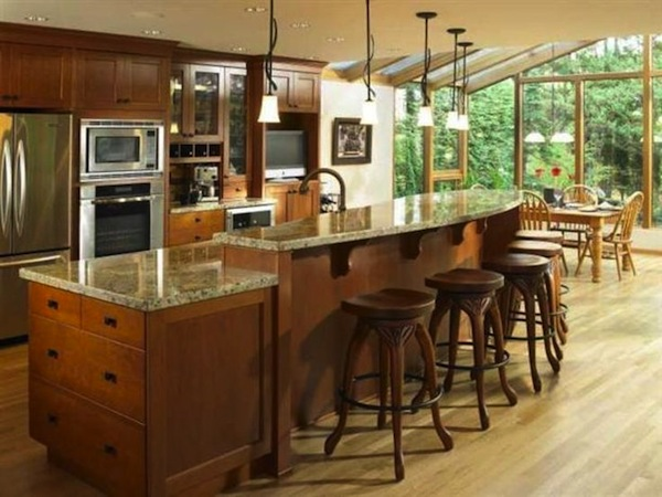 How to choose the ideal barstool for your kitchen island for The perfect kitchen island