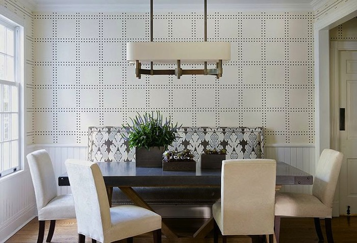 Superb Banquette And Side Chairs