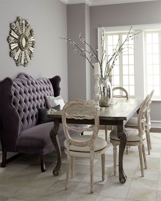 Dining Room Banquette Ideas: 10 Clever Banquette + Side Chair Ideas & Tips