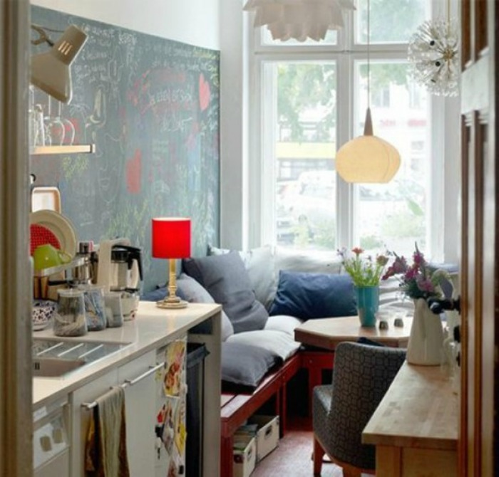 Apartment Therapy Small Cool Kitchen
