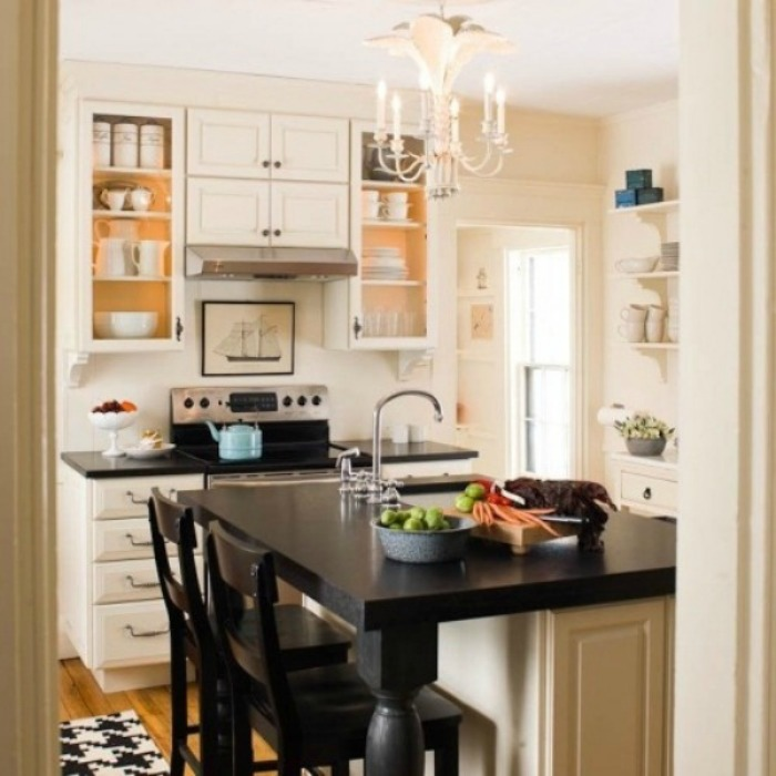 20 Small Eat-In Kitchen Ideas & Tips + Dining Chairs ...
