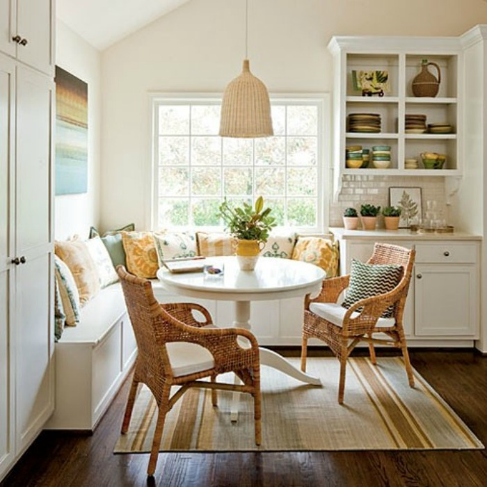 Connected To The Kitchen Dining Rooms And Eating Area Designs: 20 Small Eat-In Kitchen Ideas & Tips + Dining Chairs