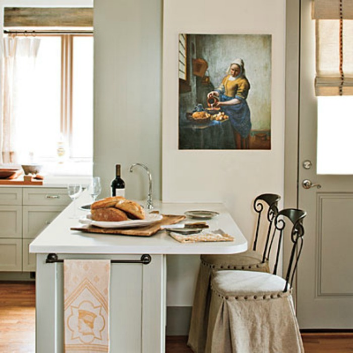 20 Small Eat In Kitchen Ideas Amp Tips Dining Chairs Artisan Crafted Iron Furnishings And