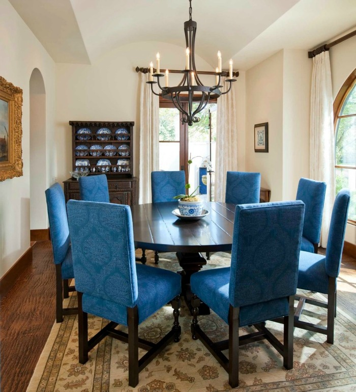 10 inviting old world style dining rooms | artisan crafted iron