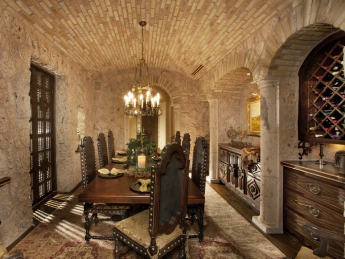 Mediterranean Dining Room 7 Part 42