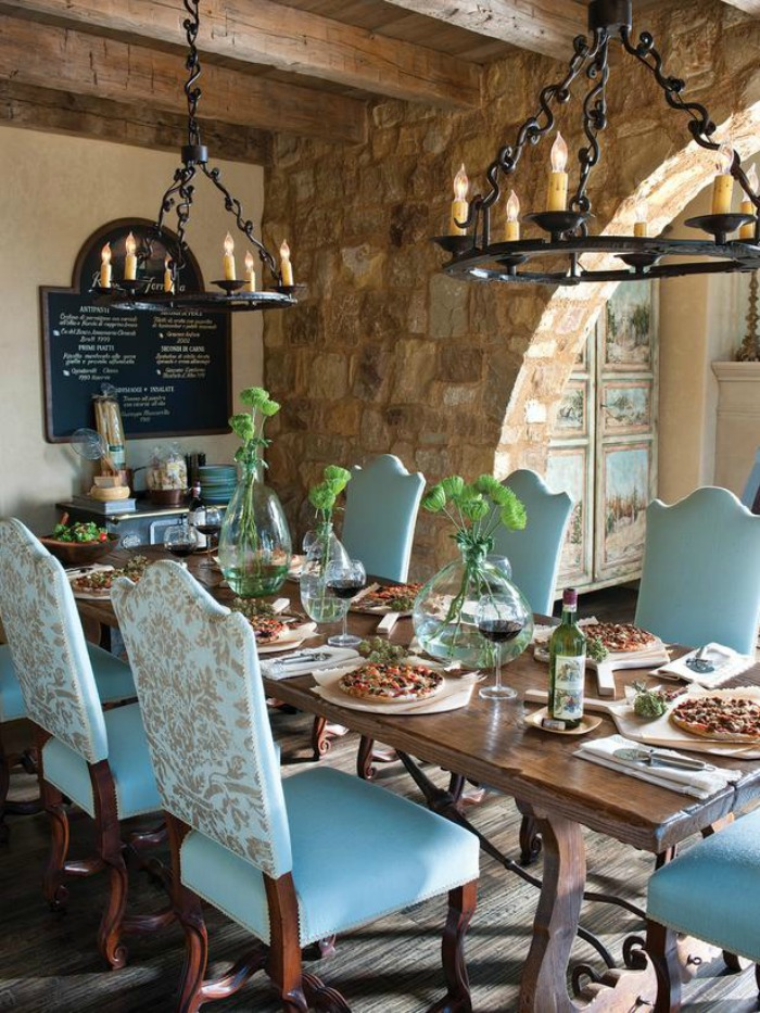10 Inviting Old World Style Dining Rooms Artisan Crafted Iron Furnishings And Decor Blog