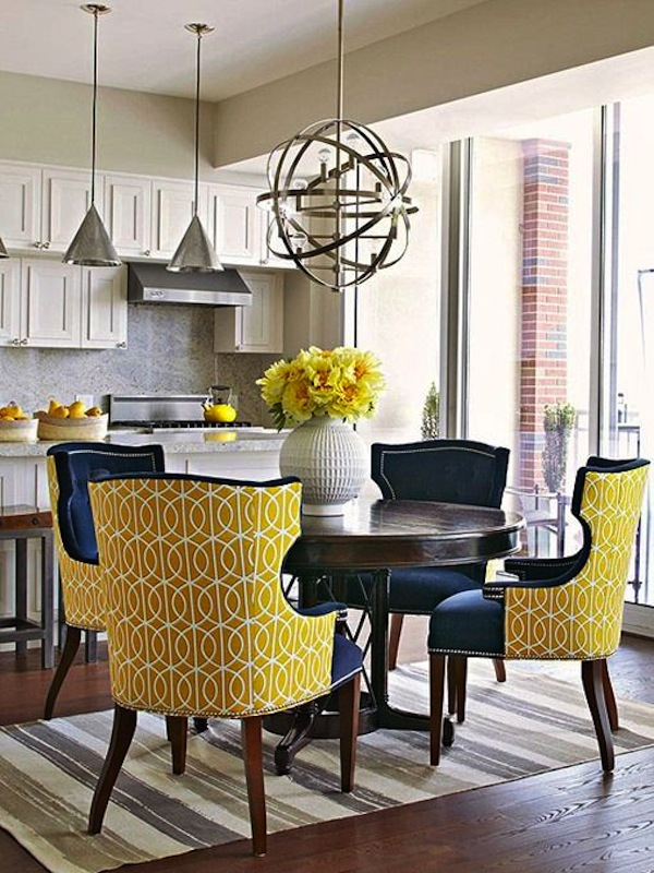 Common Dining Armchair Styles & Materials | Artisan Crafted Iron ...