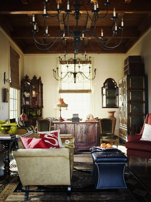 Living Room Ottoman Decor: Get The Look: Ottoman As Coffee Table
