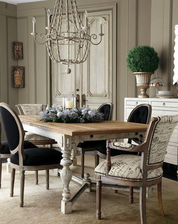 French Dining Armchairs