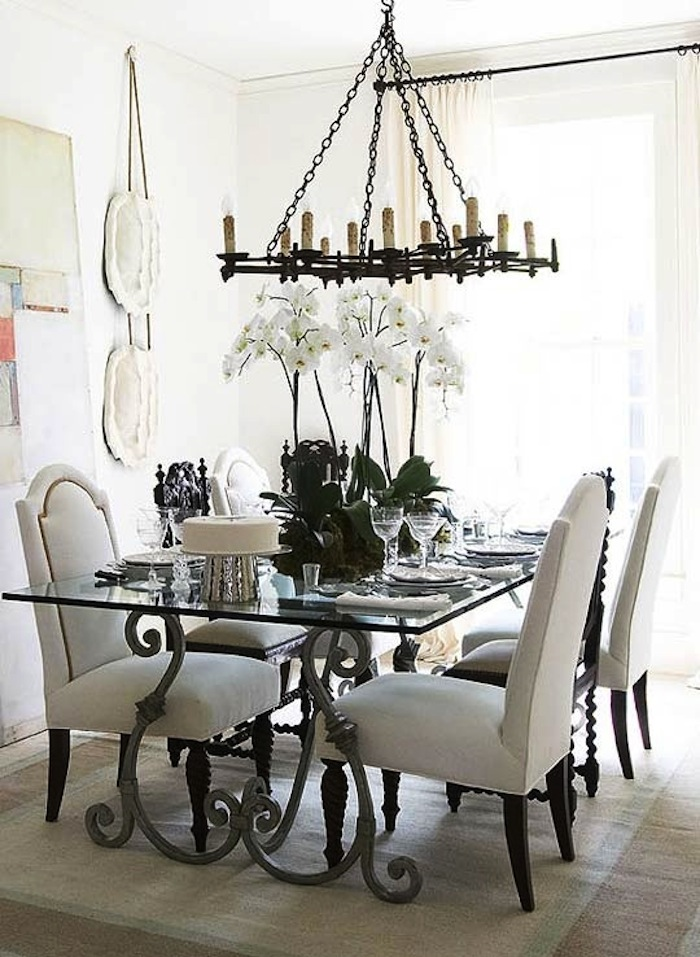 Accent Old World Style Decor With Iron Tables Artisan
