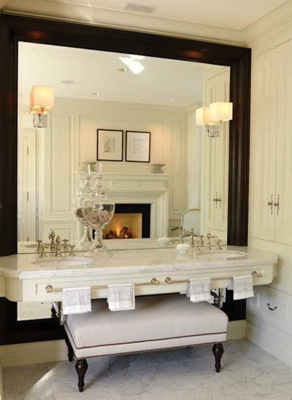All about ottomans styles shapes uses ideas for Master bathroom ottoman