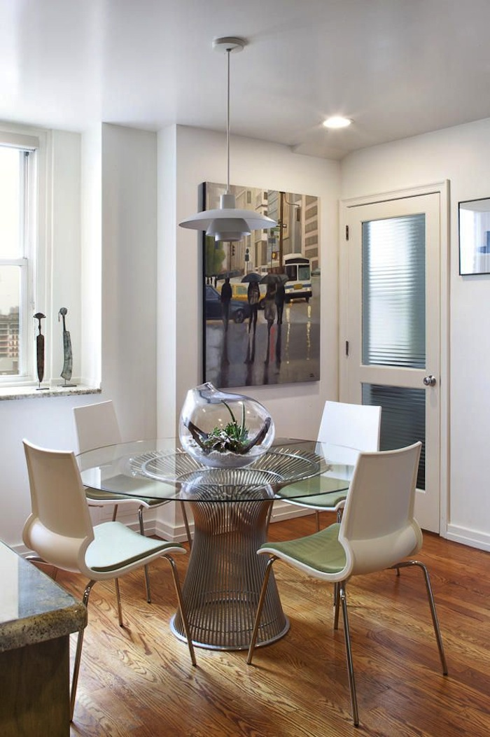 15 small dining room table ideas tips artisan crafted for Dining room in small space