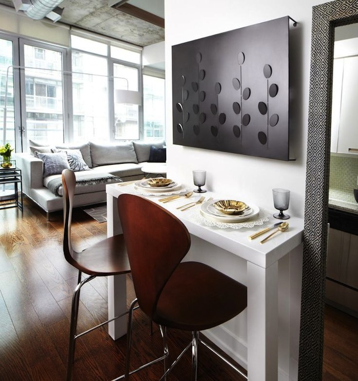 15 small dining room table ideas & tips